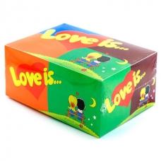 Жвачка Love is MIX, блок (80 шт.)