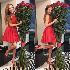 Букет 51 роза 170 см.