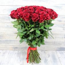 Букет 51 красная роза 90 см.
