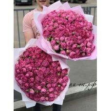 "71 пионовидная роза ""мисти-баблз"" (60 см)"