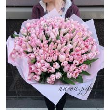 151 розовый тюльпан