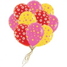 """15 шаров """"Цветочки"""""""