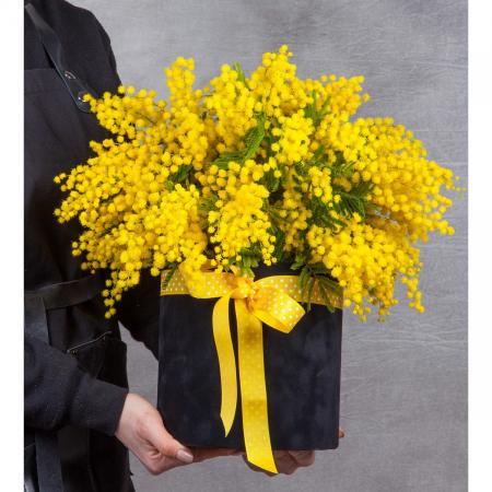 """Композиция """"Запах весны в желтом"""""""
