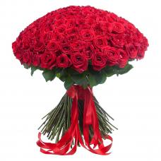 Букет из 201 красной розы «Ты - мой мир!»