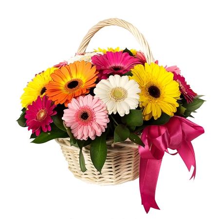 Цветы в корзине Интересный поворот