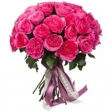 """Букет из пионовидных роз """"Баронесса"""" (35 шт.)"""
