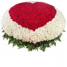 "Композиция ""Мое сердце - тебе"" (1001 роза)"