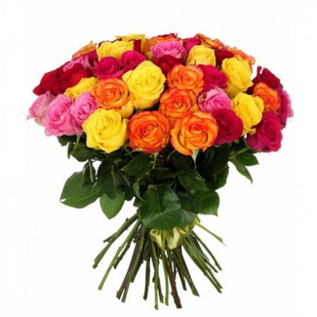 "Букет ""Радуга"" (51 или 101 роза)"