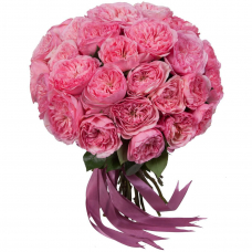 "Букет пионовидных роз ""Maria Theresia"" (15, 25 или 51)"