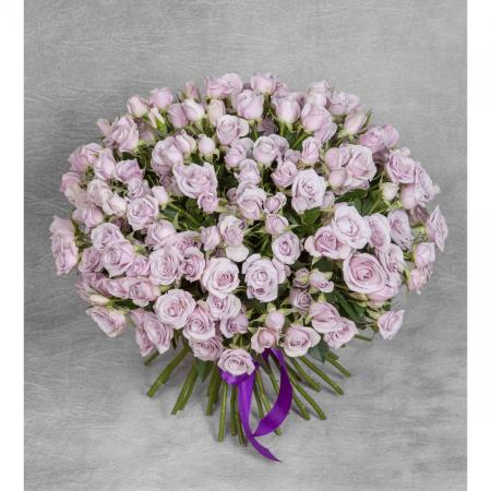 Букет кустовых роз Silver Shadow