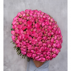 """Букет из 151 пионовидной розы """"Pink Piano"""""""
