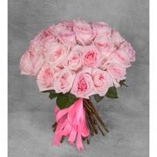 """Букет ароматных пионовидных роз """"Pink O""""Hara"""""""