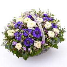 Цветы в корзине Смешанное чувство