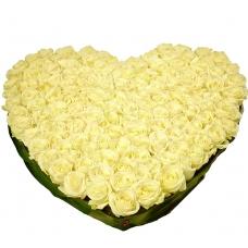 Сердце из цветов Любовь без границ