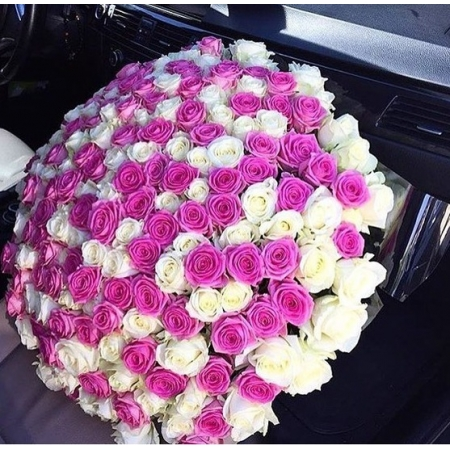Букет Розовый рассвет